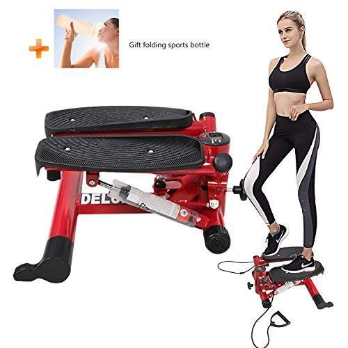 最新な Dporticus Air Stepper Climber Exercise Machine Aerobic Fitness w/Resis, カデンショップ b9391bdb