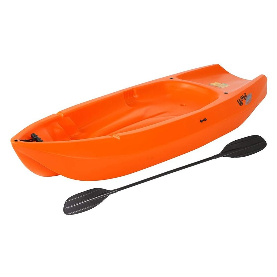 割引 Lifetime Wave Youth Kayak with Paddle 6-Feet, Orange, TROIKA Design Store 73a373f5