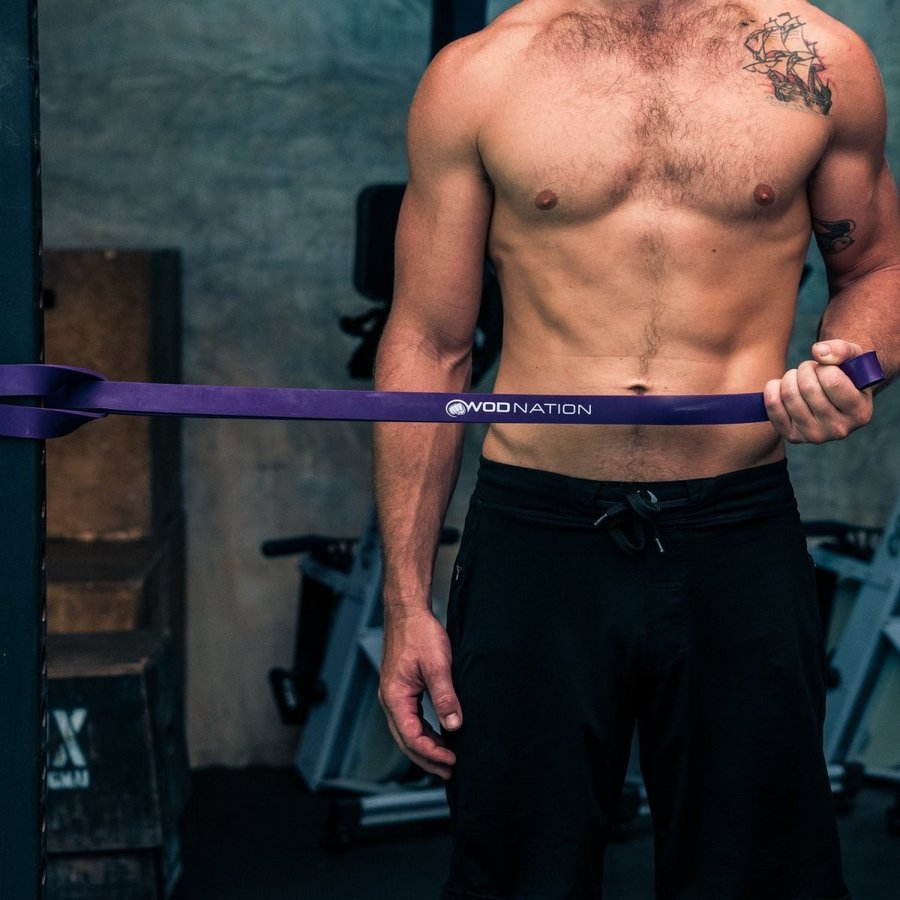 WOD Nation Pull up Assistance Bands Best for Pullup Assist, Chin Ups,