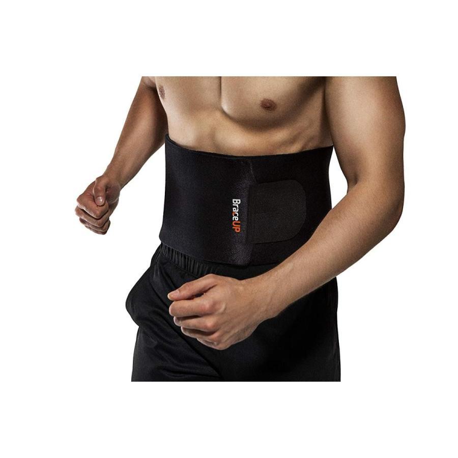 BraceUP Soft Adjustable Waist Trimmer Belt, One Size