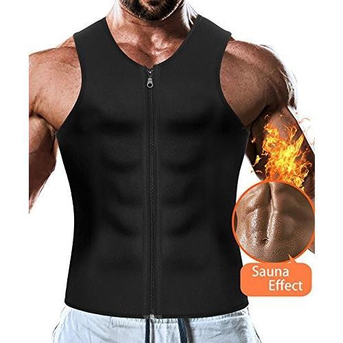 Men Waist Trainer Vest Weightloss Hot Neoprene Corset Compression Swea