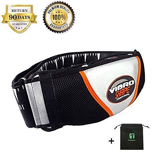 Electric Heat Vibration Waist Sauna Belt Shape Slimming Massage Belt L