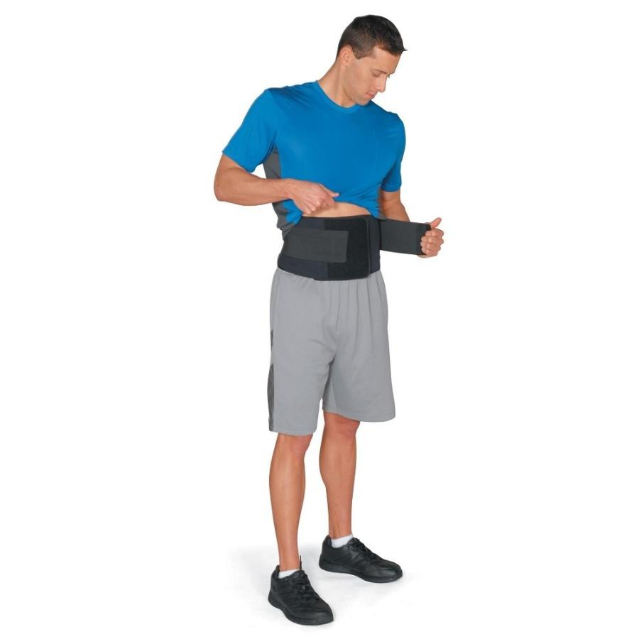 Valeo Core Support Slimmer Belt With Rigid Nylon Back Panel and Soft N