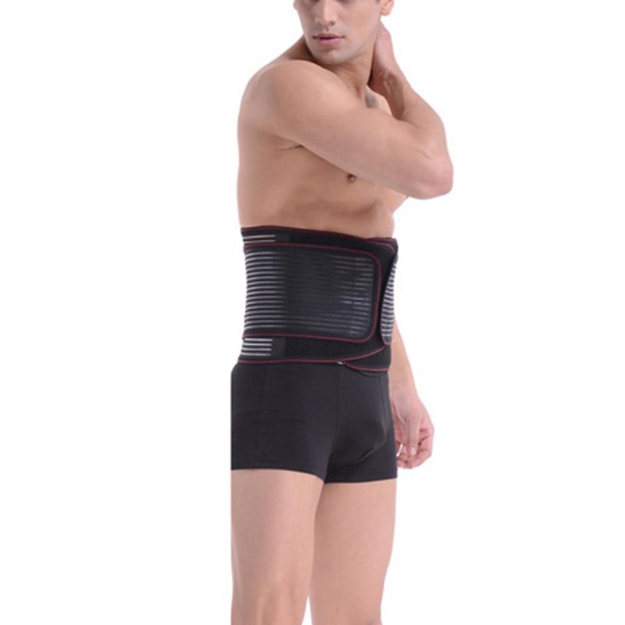 Hisret Waist Trainer Cincher Stomach Control Belt for Men Workout Weig