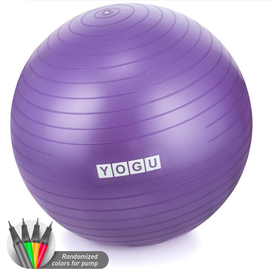 最も優遇 YOGU Stability with Exercise Ball Ball 65cm Yoga Balance Ball Birthing YOGU Ball with, マシケグン:94d804f9 --- airmodconsu.dominiotemporario.com