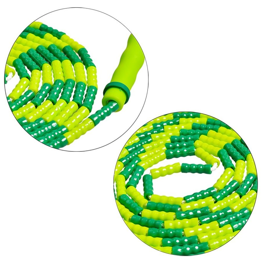 MyLifeUNIT Double Dutch Jump Rope for Kids, 10 Feet Skipping Rope with