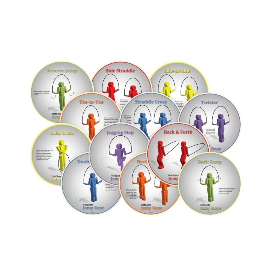 フジオカシ HotSpots Set HotSpots Rope Jumping Spots, of Set of 12, アルテミスクラシック公式ショップ:7eff22b0 --- airmodconsu.dominiotemporario.com