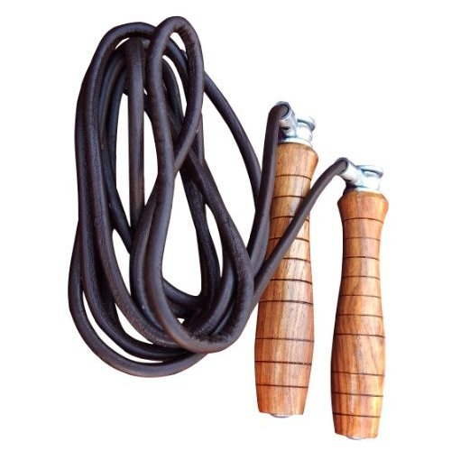 ARD Pro Leather Skipping Adjustable Weighted Rope Speed Rope Jump Jump