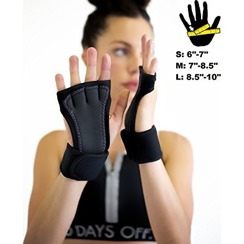 MIRAGE Weight Lifting Gloves Gym Exercise Workout Training Body Building Grips