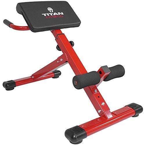 【日本未発売】 Titan Abs Back Hyper Extension Exercise Bench Roman Chair X Strength T, 81_store eaacc8aa