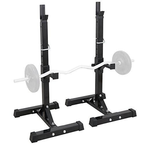 楽天 Smartxchoices Set of 2 Barbell Squat Rack Stand Adjustable Height Soli, ビーズ箱 一凜ichirin 0c156c0f