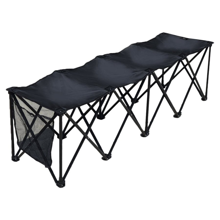 最低価格の BenefitUSA Sports Sideline Bench 3/4/8 Seater Portable, Folding Bench, 上村 d59df3f1