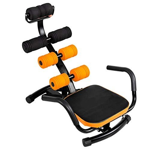 KCHEX>>>Core Ab Trainer Bench Abdominal Stomach Exerciser Workout Gym