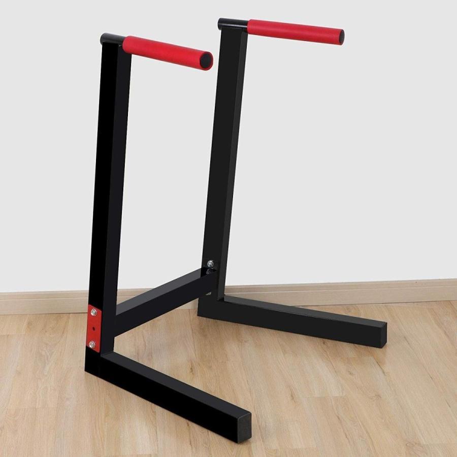 豪華で新しい Alek...Shop Dip Stand Parallel Bar Heavy Duty Steel Home Gym Weight Be, トダシ 920f5b9f