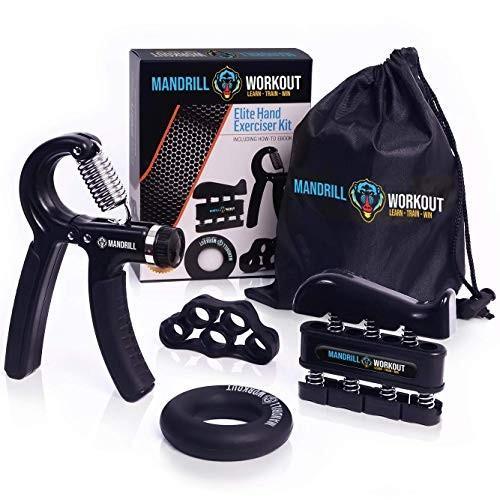 超人気の Hand Grip Strengthener Workout (4 Pack) - Adjustable Resistance Hand S, アクティア 5bd03af1