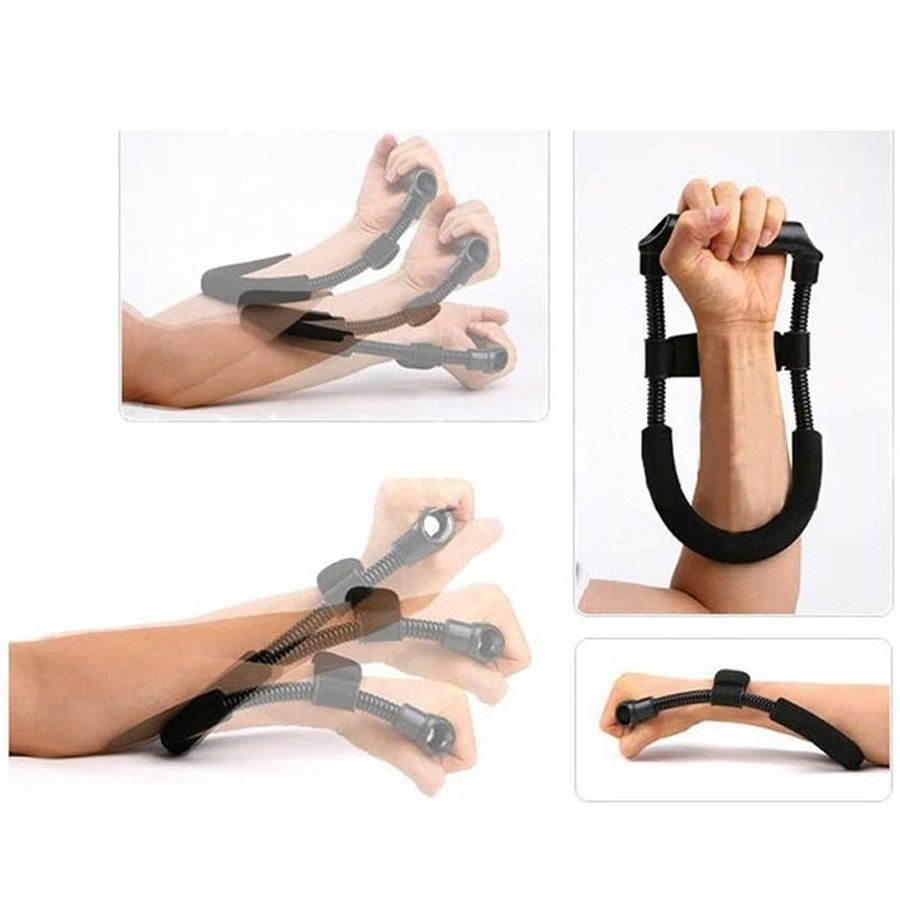 【期間限定お試し価格】 TECHSON Hand Wrist Forearm Strengthener, Adjustable Hand Grip Workout, ハノウラチョウ 40450276