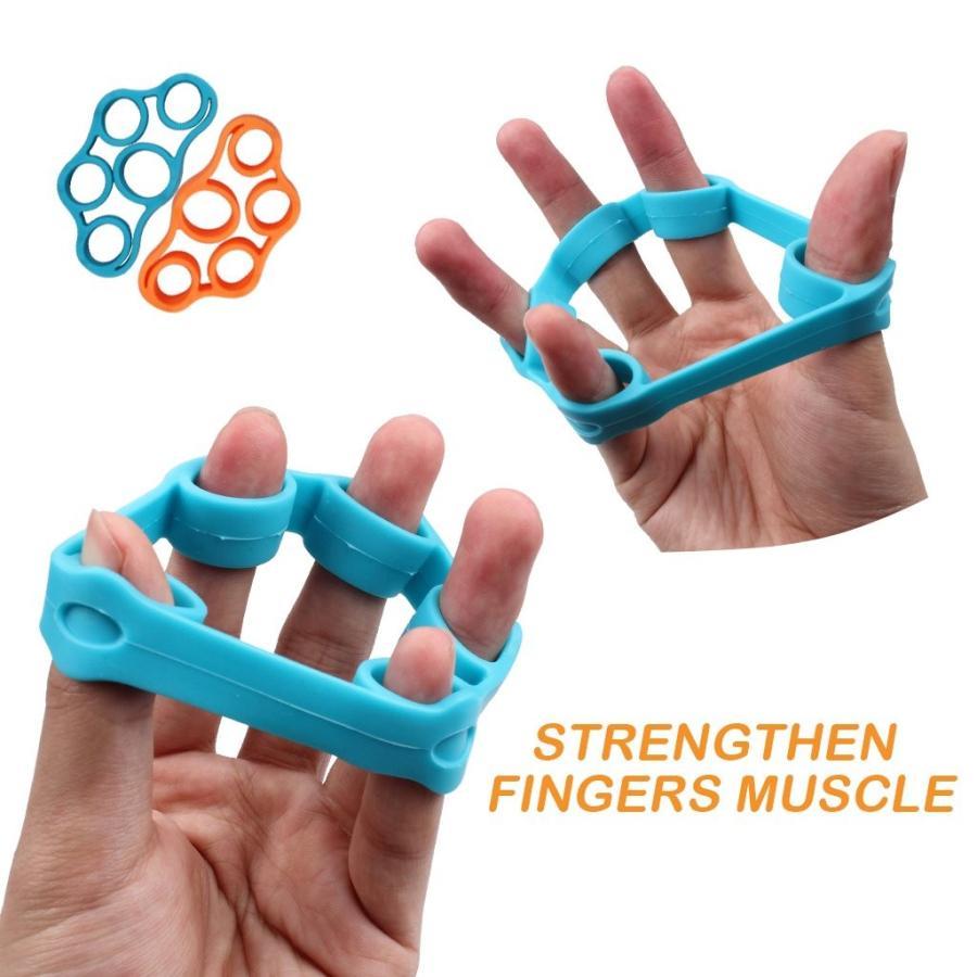 超可爱の CHLADDY 4-Pack Finger Stretcher Finger Exerciser Hand Grip Strengthene, ブランドバッグ財布のピュアリー 86d3766a