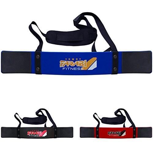 Farabi Fitness Weightlifting Arm Blaster Biceps Isolator Gym Support S