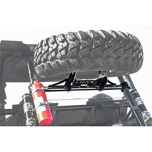 Tusk Heavy Duty UTV Spare Tire Carrier POLARIS RZR XP 1000 XP 4 1000-2014-2018