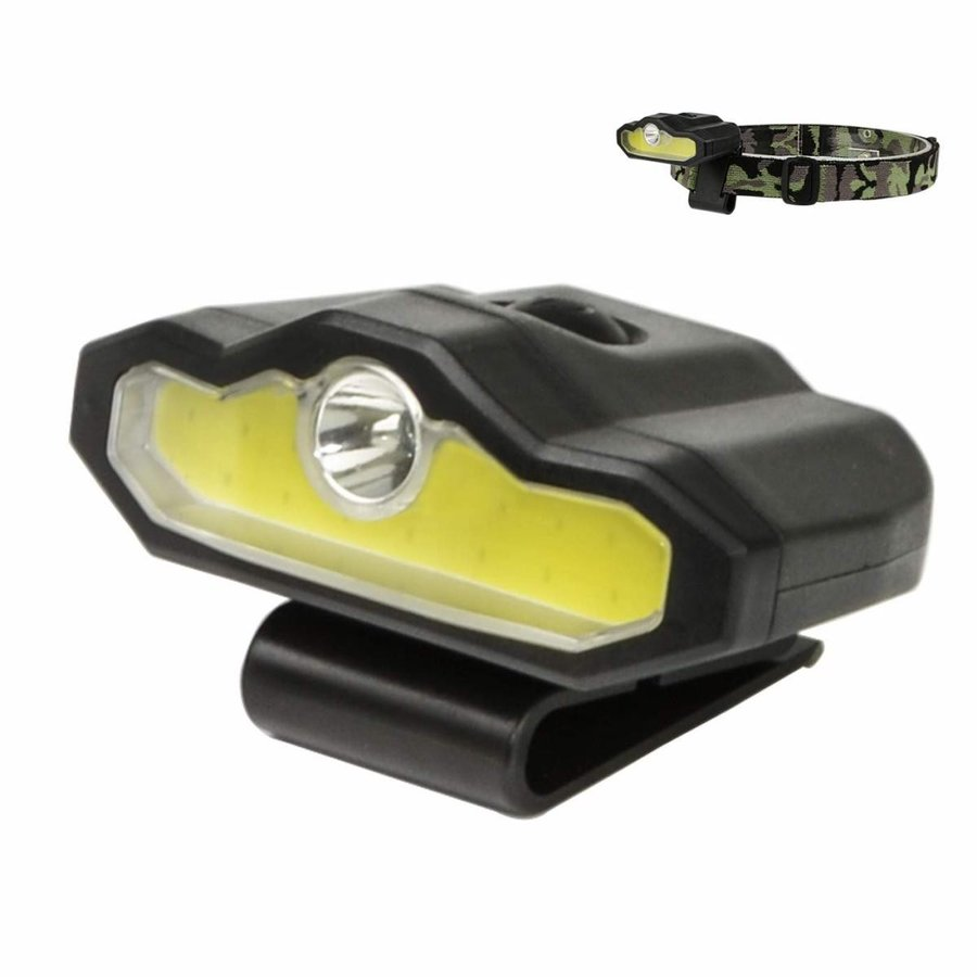 XULUOQI LED Cap Light, Portable Hands-Free Clip Cap Light - Rechargeab