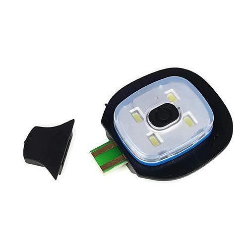 Portwest USB Rechargeable LED Hi Vis Beanie Hat Hands Free Flashlight