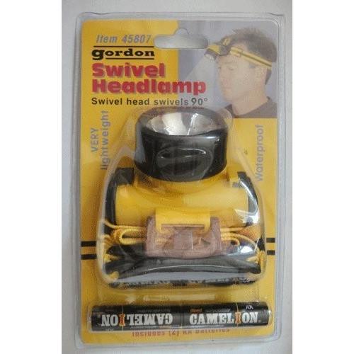 Gordon Swivel Headlamp Waterproof