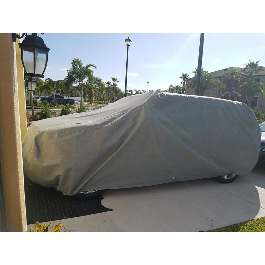 Weatherproof Truck Cover Compatible with 2014-2019 GMC Sierra 1500 Cre
