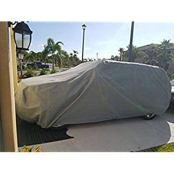 Weatherproof Truck Cover Compatible with 2007-2019 Toyota Tundra Doubl