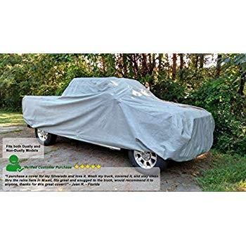 Weatherproof Truck Cover Compatible with 1999-2013 Chevrolet Silverado
