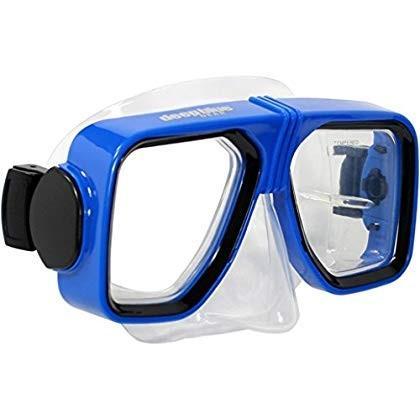 入園入学祝い Deep Blue Gear Spirit Deep 2 Diving and Snorkeling Mask, Snorkeling Mask, Optical Lens Ready, 大割引:2273326d --- airmodconsu.dominiotemporario.com