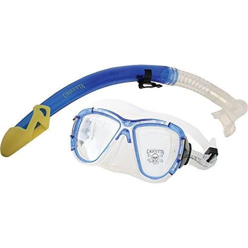 最高の品質の Calcutta Silicon Snorkel and Mask Set (Medium Silicon Mask/Large, Set Blue), ファッション雑貨 DECOBERRY:6d46aaeb --- airmodconsu.dominiotemporario.com