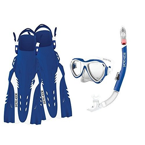 高質 Body Glove Aquatic Enlighten II Mask Snorkel and and Glove Fins Aquatic Set, Large/X-Lar, ブックセンターいとう日野店:8bc9c3da --- airmodconsu.dominiotemporario.com