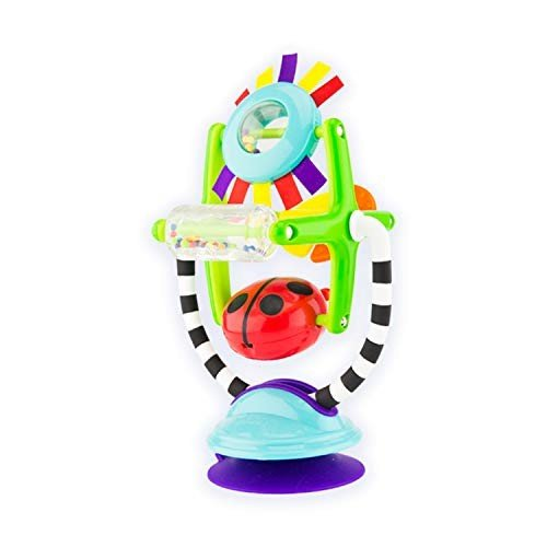 Sassy Sensation Station 2-in-1 Suction Cup High Chair Chair Toy | Developmen