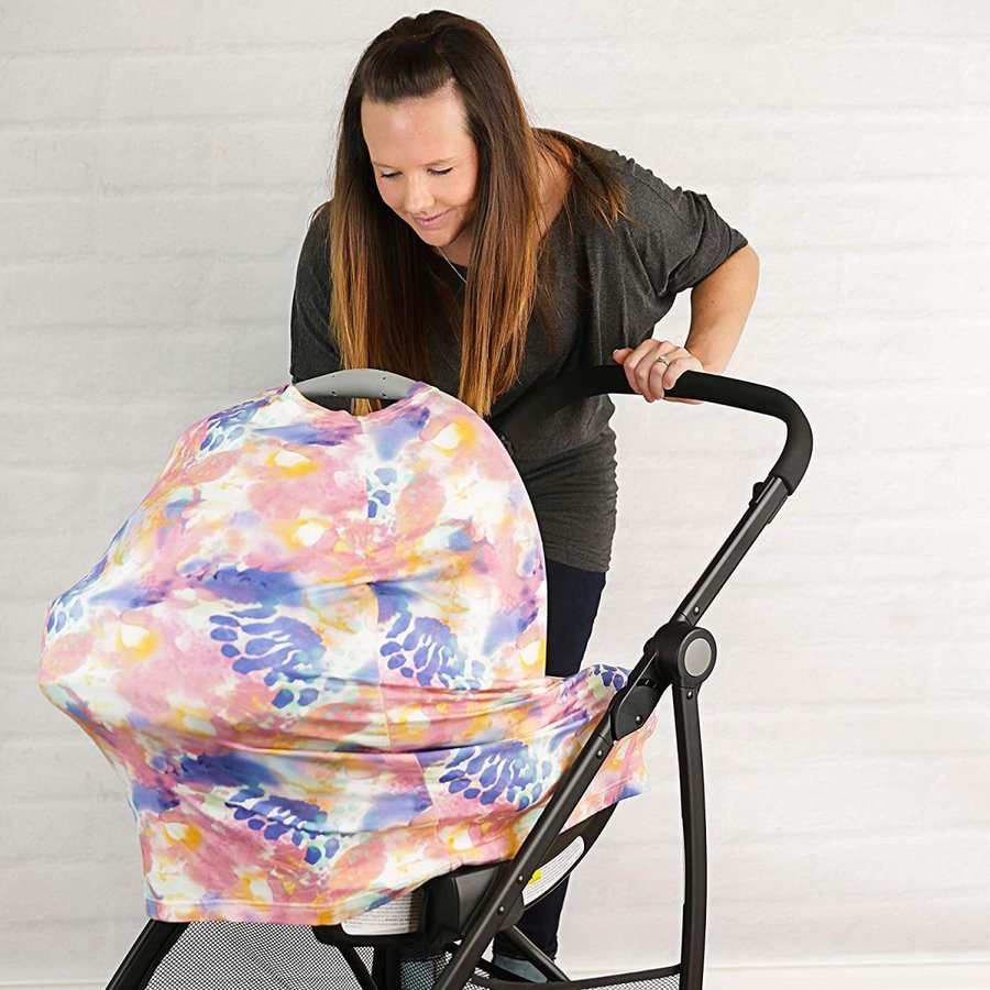 Nursing Cover, Car Seat Canopy, Shopping Cart, High Chair, Stroller an