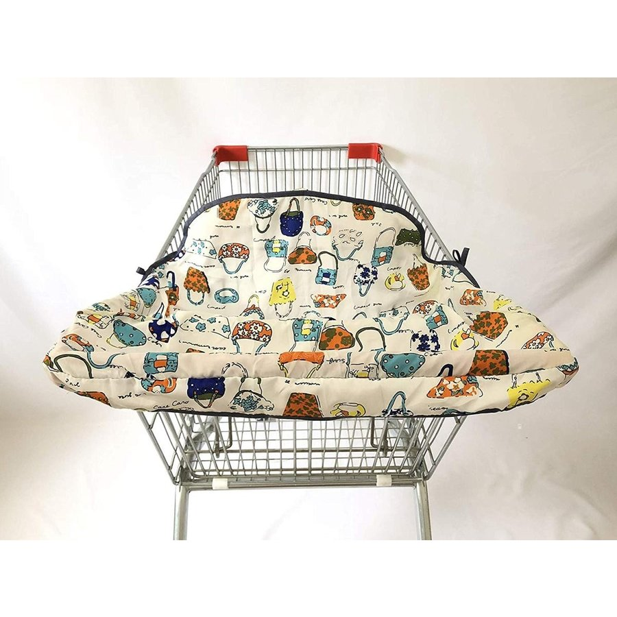Material Imitated Silk Silk Fabric Trolley Cover/Highchair Cover (Colorful