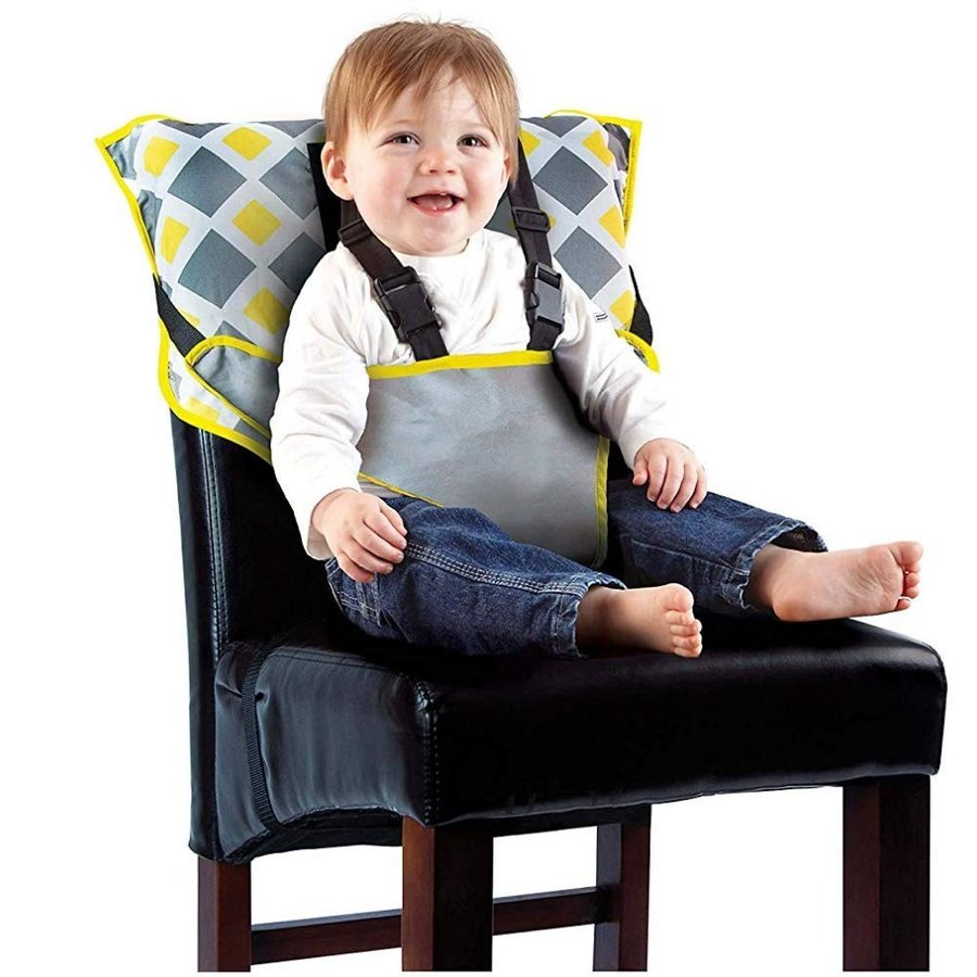 Baby High Chair Feeding Belt Adjustable Strap Strap Washable Travel Toddler