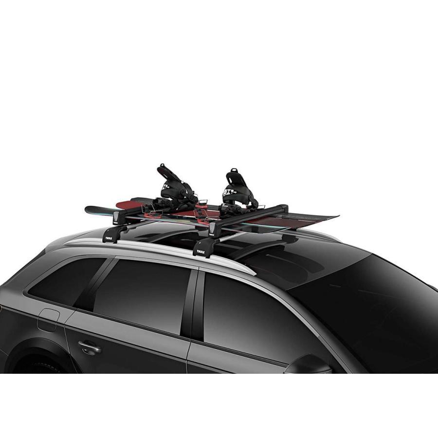Thule SnowPack Ski/Snowboard Carrier, 6 Pair-Aluminum