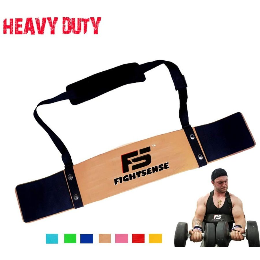 FIGHTSENSE Arm Blaster Biceps Curl Triceps Muscle Isolator Bomber Fitn