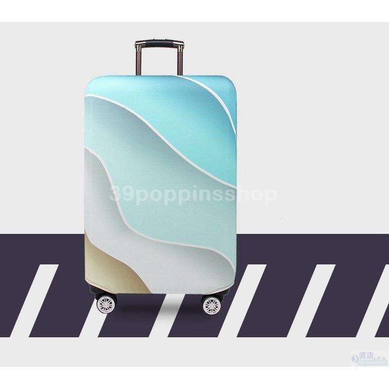 スーツケースカバー キャリーバッグケースカバー ラゲッジカバー トランク伸縮保護カバー 汚れ 傷 盗難防止 お洒落 旅行用品 トラベル S/Mサイズ適用 39poppinsshop 03