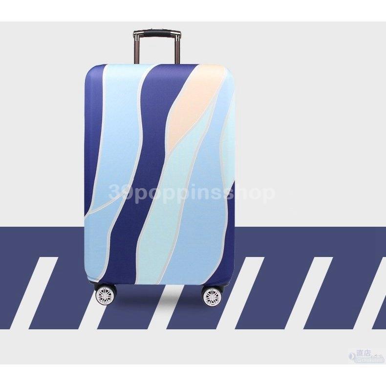スーツケースカバー キャリーバッグケースカバー ラゲッジカバー トランク伸縮保護カバー 汚れ 傷 盗難防止 お洒落 旅行用品 トラベル S/Mサイズ適用 39poppinsshop 06