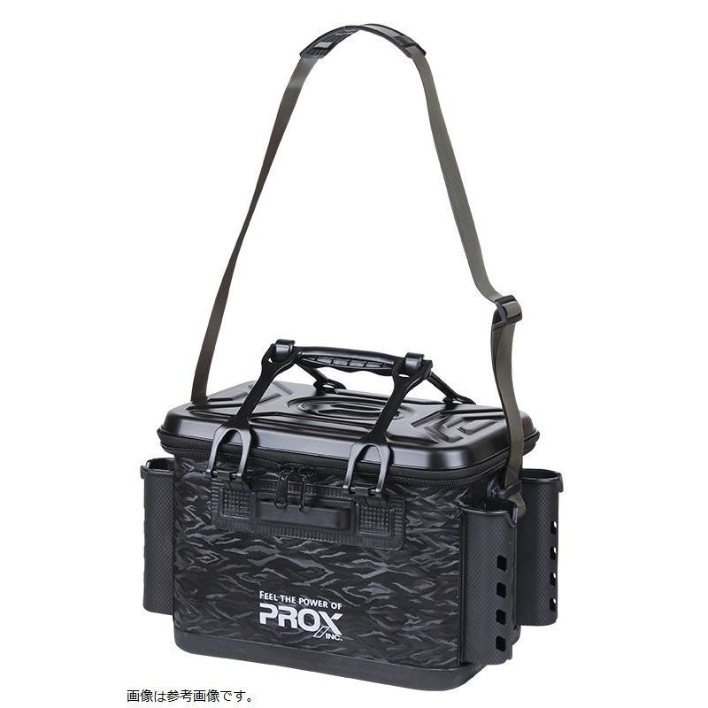 プロックス EVAタックルバッカン ロッドホルダー付 36cm/ブラック [バッグバッカン]|3arrows