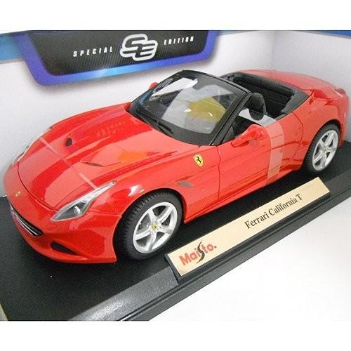 Ferrari California T 赤 Open Top 1/18 Maisto [並行輸入品]