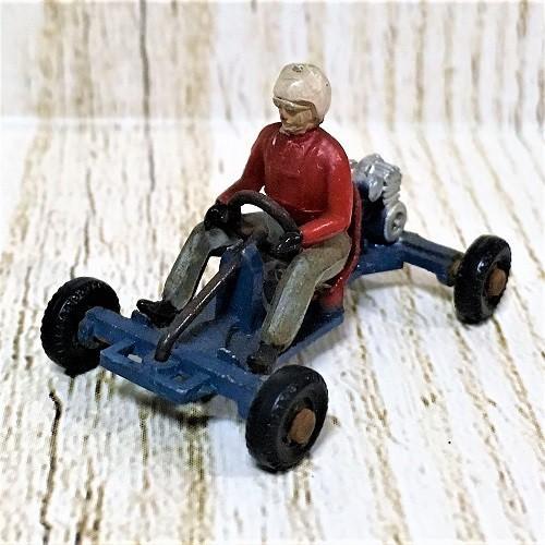 ディンキートイズ フランスディンキー フランスの古いミニカー DinkyToys512 Leskokart MidJet - Boxed Go Kart Made In France