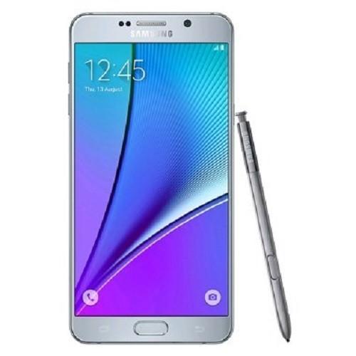 Samsung GALAXY Note5 (Dual SIM) SM-N9200 (SIMフリー LTE, 32GB, Silver Titanium) 並行輸入 香港版|4season-net