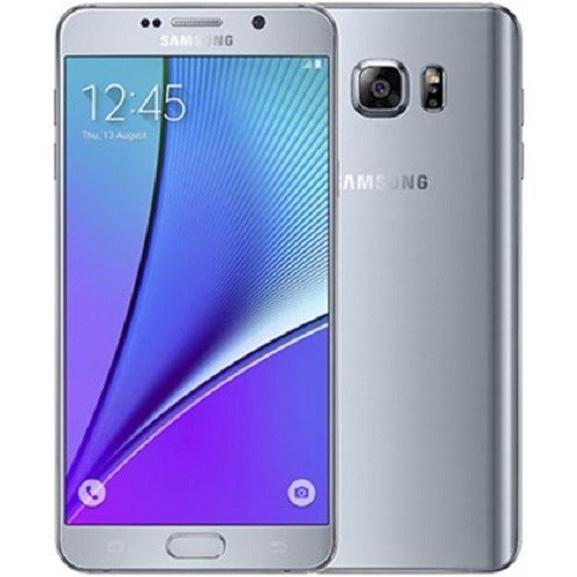 Samsung GALAXY Note5 (Dual SIM) SM-N9200 (SIMフリー LTE, 32GB, Silver Titanium) 並行輸入 香港版|4season-net|02