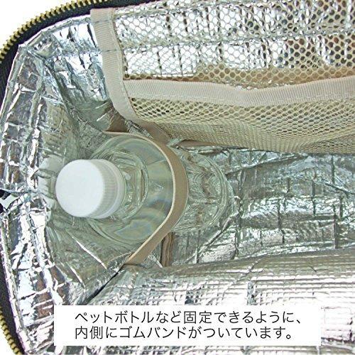アットファースト 保冷 ランチバッグ Lサイズ カラーズ レッド AF5997|4smile|06