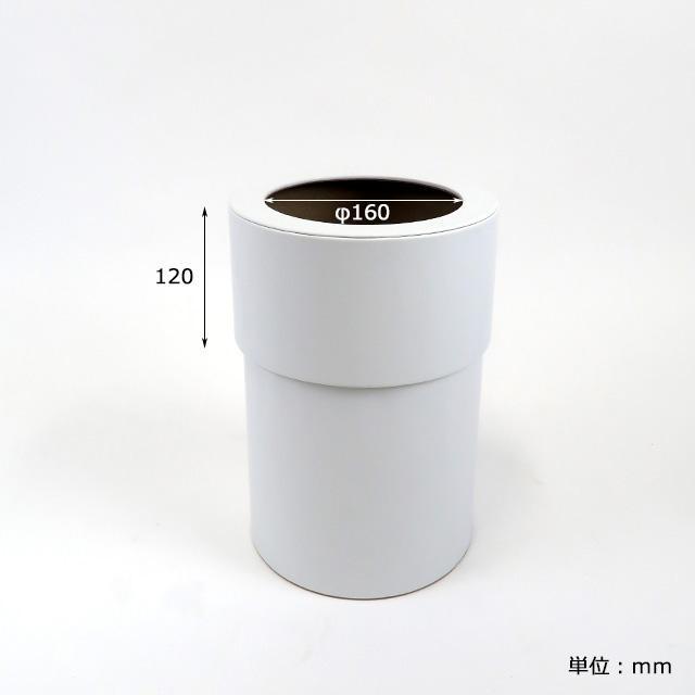 エントリーP10倍 レザーラウンドカバーダストボックス(袋が見えない) 北欧 ボックス 500WORKS.ゴミ箱 蓋付 ゴミ箱 ごみ箱 ごみばこ ダストBOX くずかご 500works 04