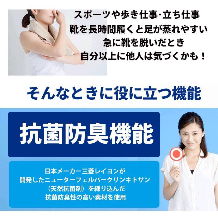 日本製 靴下 スポーツ ソックス  5本指ソックス  抗菌防臭 足裏サポートクッション サイズ22-27  ゆうパケット送料無料 mi01|5445|04