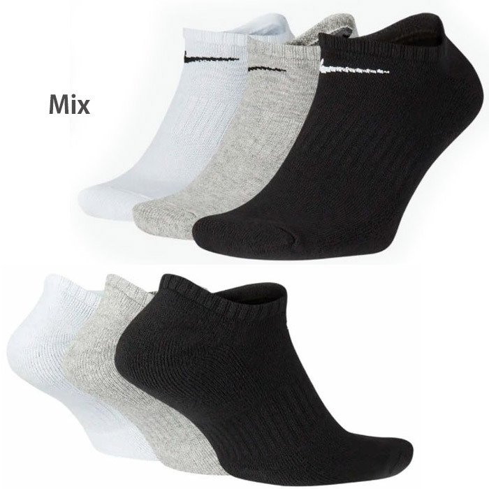 NIKE ナイキ ソックス 3足セット 靴下 スポーツ ジョギングに ローカット  ゆうパケット送料無料 レディス メンズ  nike01|5445|02