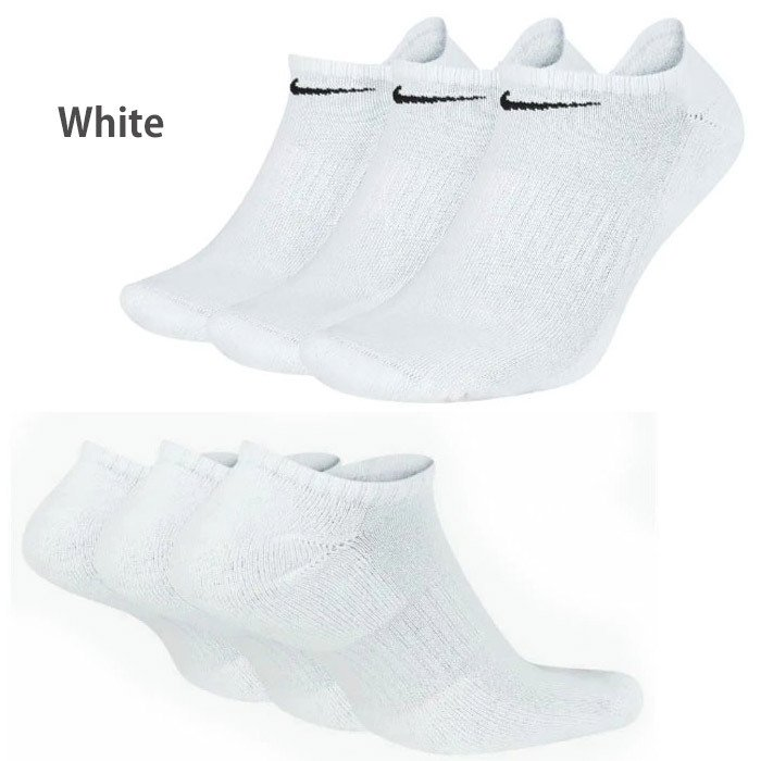 NIKE ナイキ ソックス 3足セット 靴下 スポーツ ジョギングに ローカット  ゆうパケット送料無料 レディス メンズ  nike01|5445|04